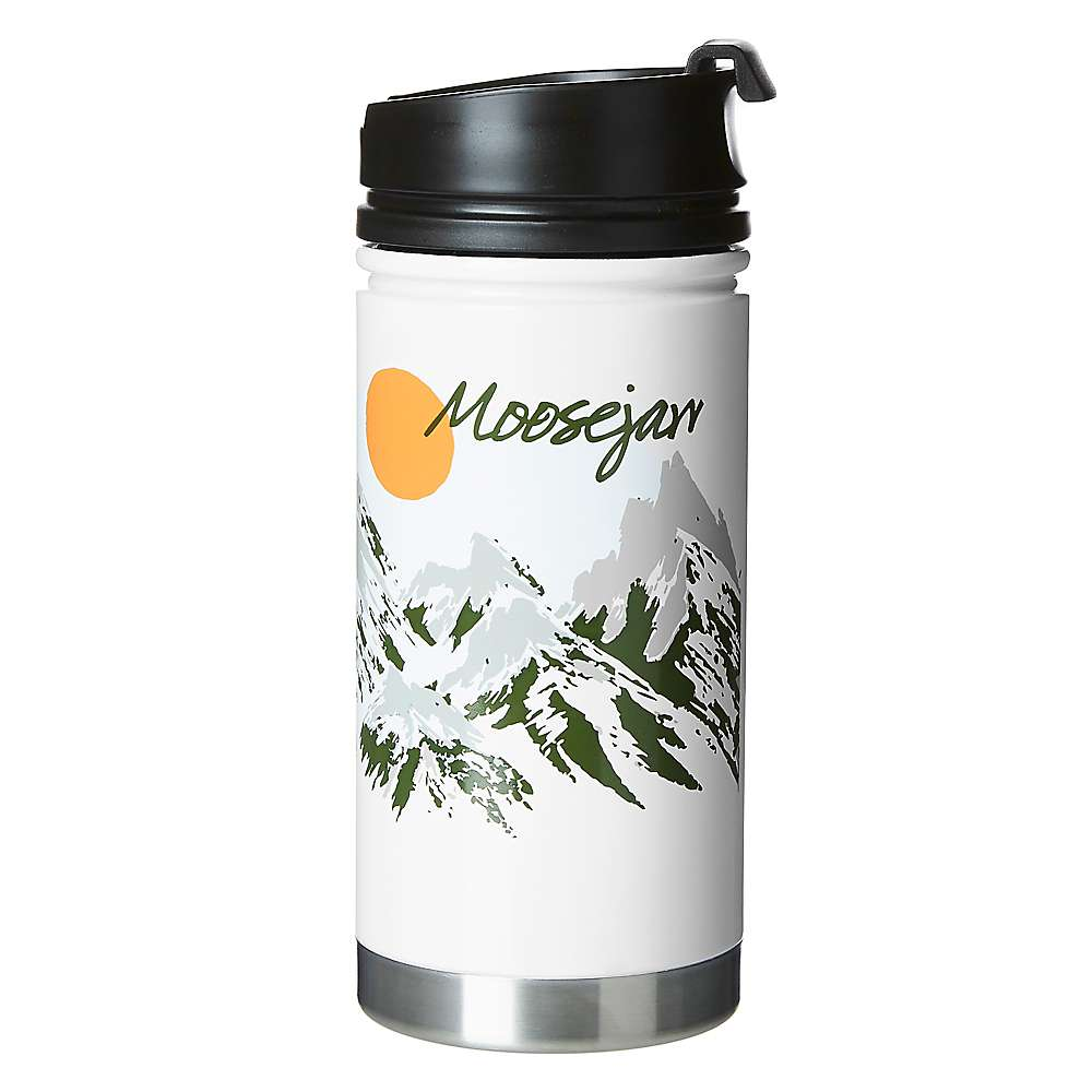 Moosejaw Mizu Two Tickets to Paradise 15 oz. Insulated Stainless Steel Bottle with Cafe Cap