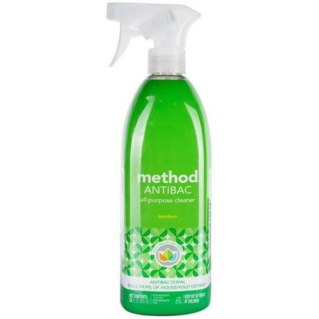 2 Pack - Method Antibac All Purpose Cleaner, Bamboo 28 oz