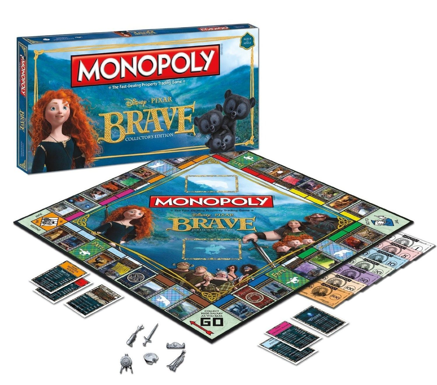 Pixar Brave Monopoly – Collector's Edition by USAopoly