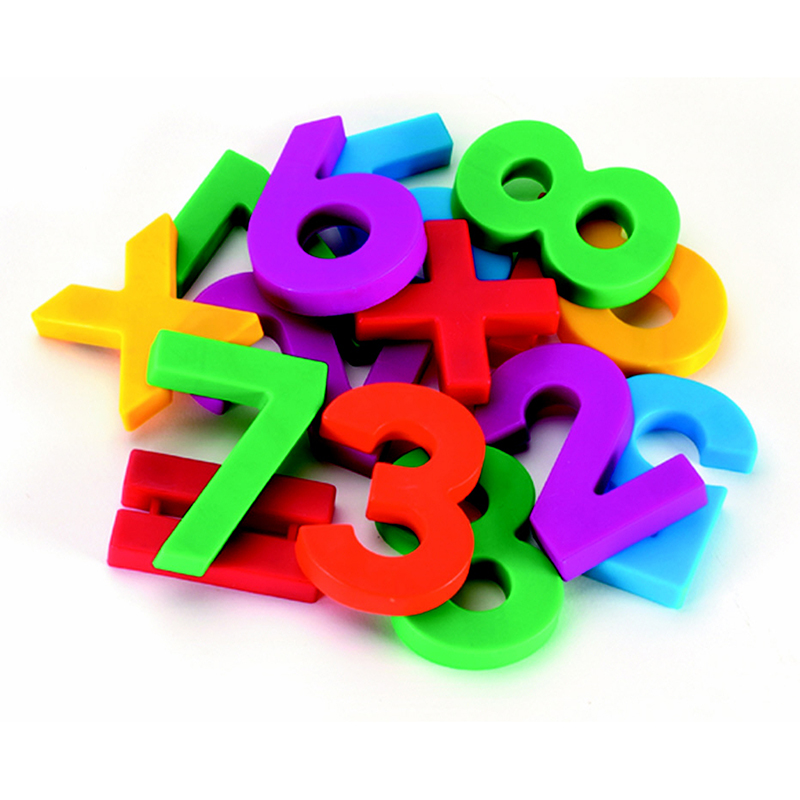 ALPHA & MATHMAGNETS 126 PCS COLOR CODED