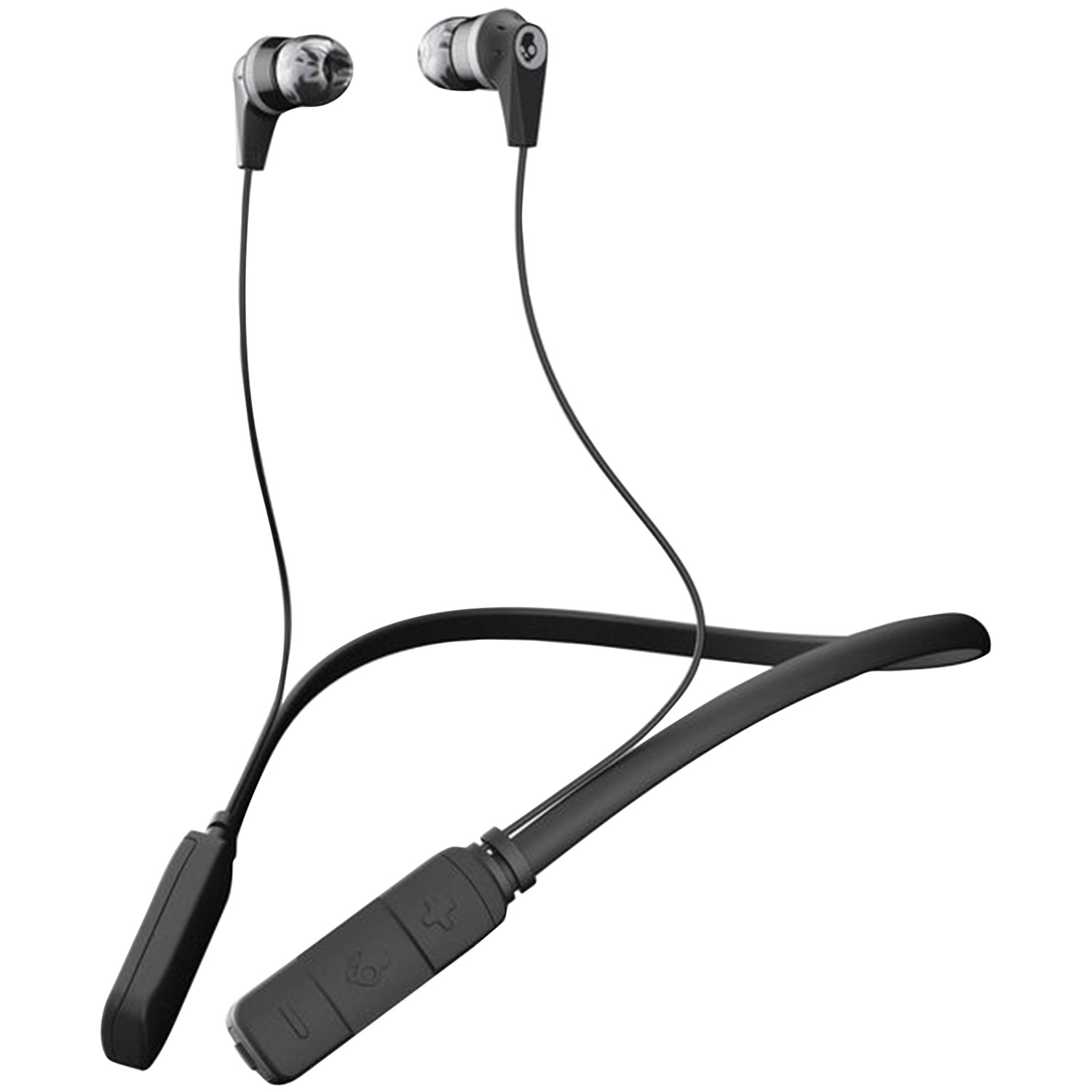 Skullcandy S2ikw J509 Ink D Bluetooth Earbuds With Microphone Black Gray Walmart Com Walmart Com