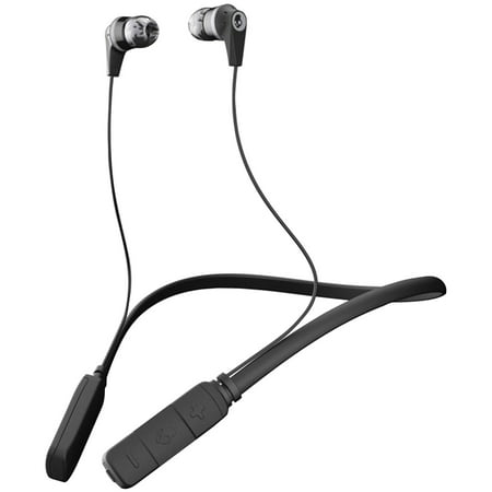 Skullcandy S2IKW-J509 Ink'd Bluetooth Earbuds with Microphone (Black/Gray) - Skull Candy Mold