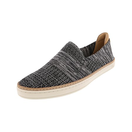 c46a51bf0d2 Ugg Women's Sammy Black Heather Ankle-High Leather Slip-On Shoes - 9M