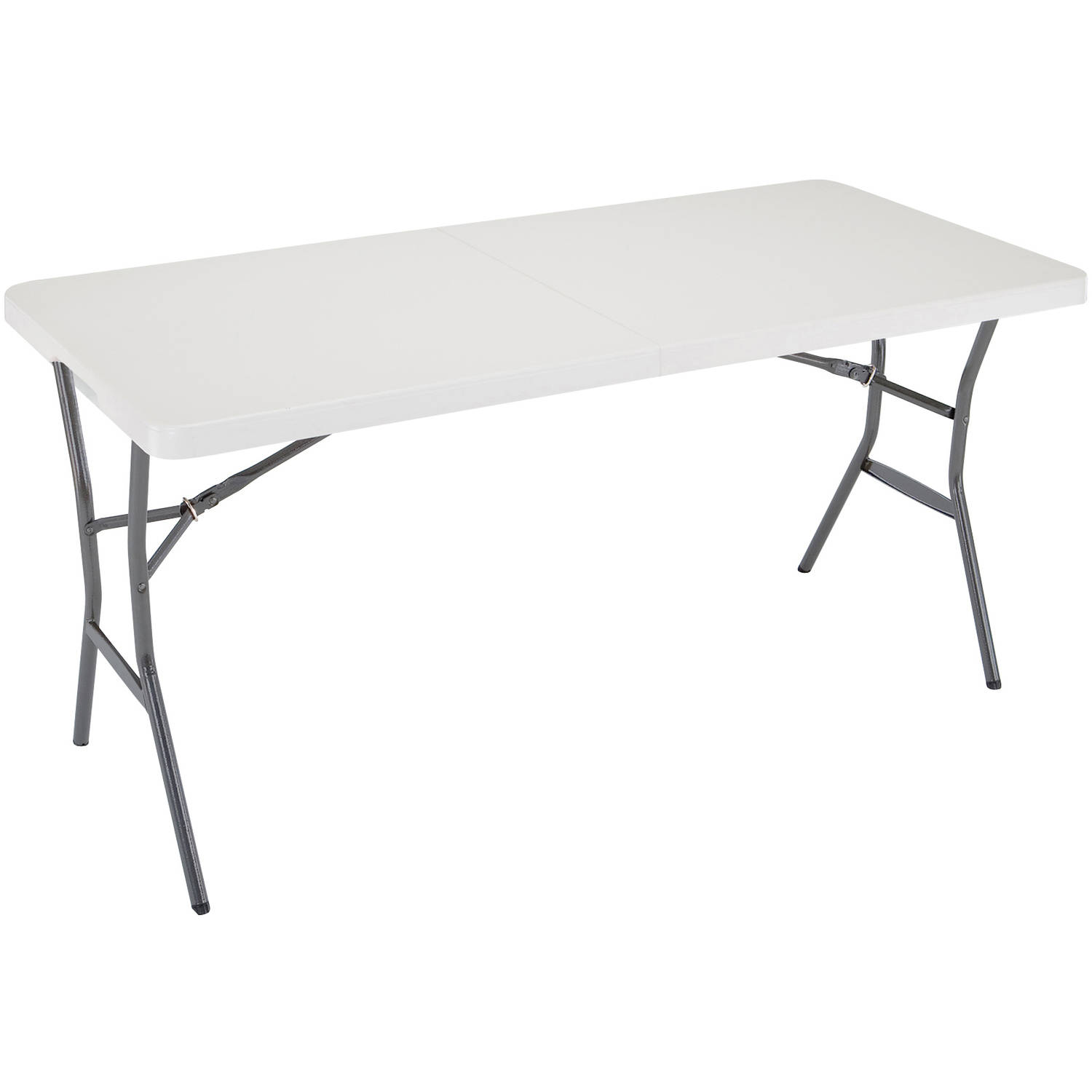 Ozark Trail 5 Center Folding Camping Table White Walmart Com Walmart Com