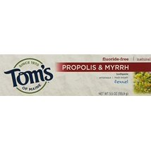 Toothpaste: Tom's of Maine Propolis & Myrrh