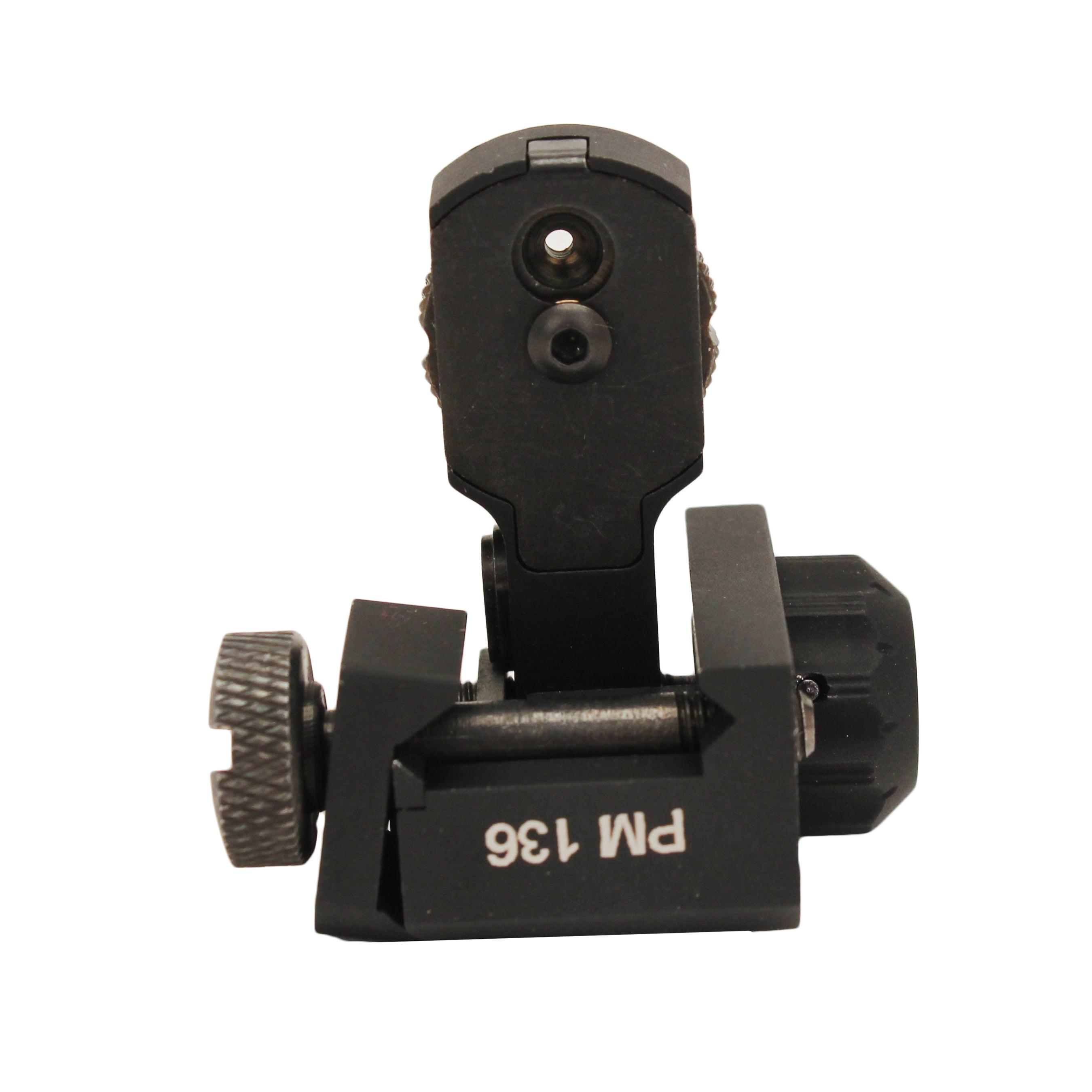 Pro Mag Flip Up Single Plane Dual Aperture Rear Sight, AR-15/M16