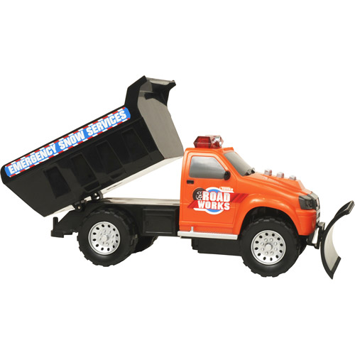 Tonka Light and Sound Snow Plow and Tanker Truck 2-Pack