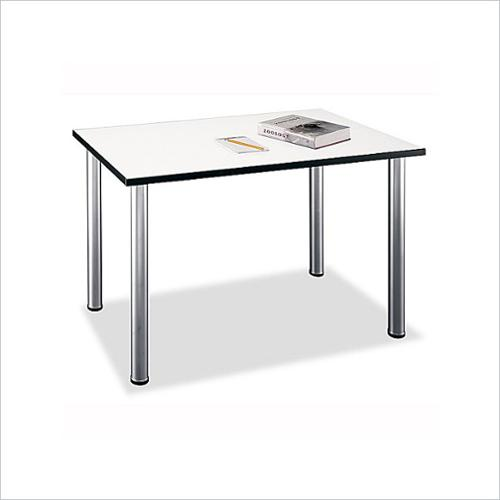 Bush BBF - Aspen Gathering Tables- Rectangle Table in White Spectrum
