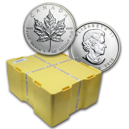 2010 Canada 500-Coin Silver Maple Leaf Monster Box -