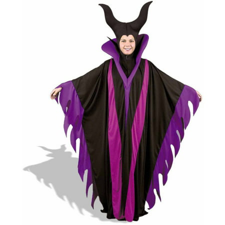 Maleficent Witch Plus Size Women's Adult Halloween Costume (Maleficent Cap)