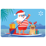 Beach Santa Walmart eGift Card