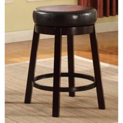 Roundhill Wooden Swivel Barstools, Counter Height, Set of 2,  Multiple Colors Available