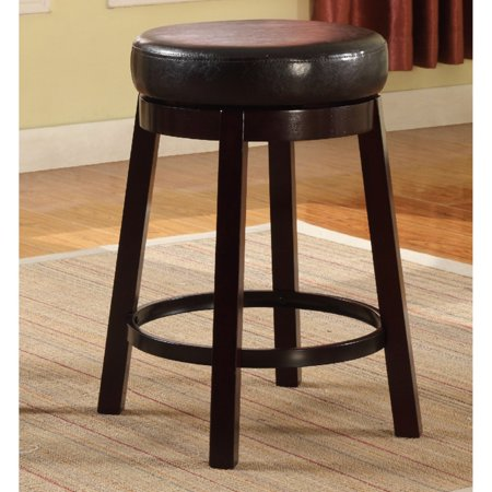 Wooden Swivel (Roundhill Wooden Swivel Barstools, Counter Height, Set of 2,  Multiple Colors)