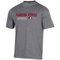 Men's Russell Athletic Heathered Gray Florida State Seminoles Comb T-Shirt