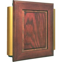 IQ America Designer Series Cherry Wood Wired/Wireless Door Chime PC-7110