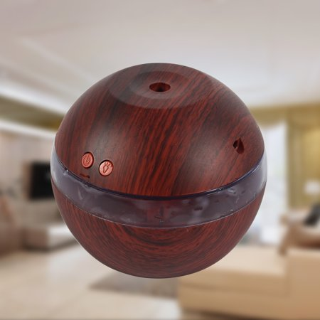 Air Purifier Essential Oil Diffuser Humidifier LED Ultrasonic Cool Mist Aroma USB for Office Home Bedroom Living