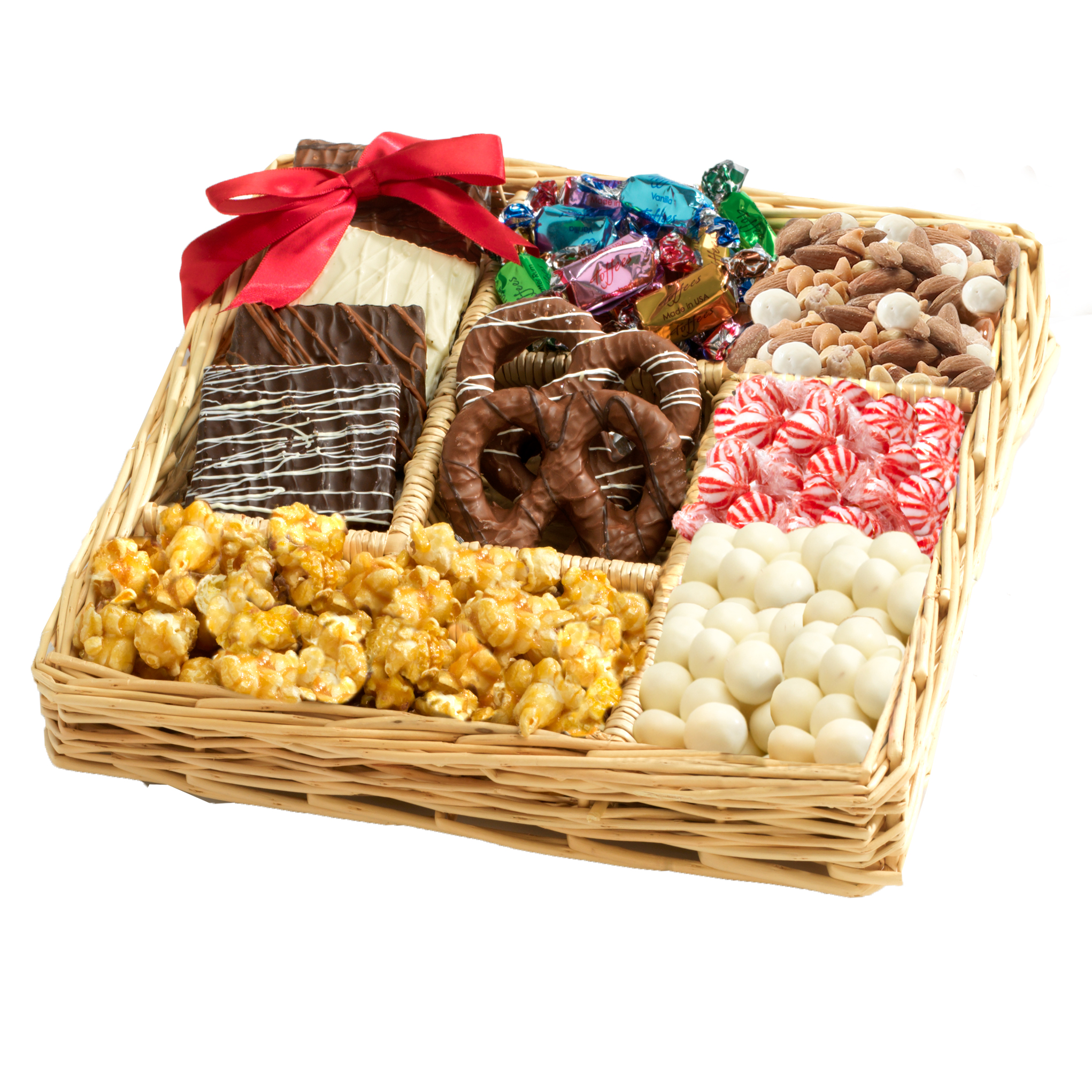 Gift baskets walmart broadway basketeers chocolate nut gift tray negle Images