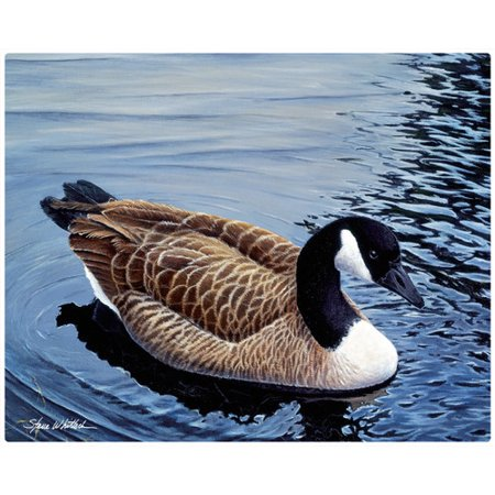 Magic Slice Canada Goose by Steve Whitlock Non-Slip Flexible Cutting Board
