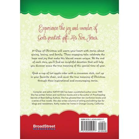 21 days of christmas stories that celebrate gods greatest gift - Best Christmas Novels
