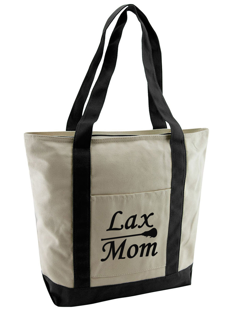 Lacrosse Tote Canvas Tote Bag Gift Ideas Shopping Bag Canvas Tote Lacrosse Gift Beach Tote Tote Bag Shopping Tote
