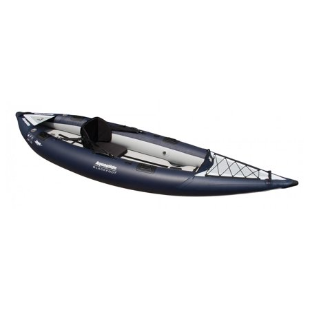 Aquaglide 58 5216110 blackfoot hb angler sl inflatable for Fishing kayak walmart