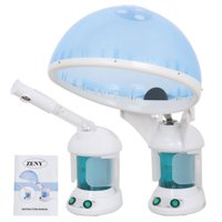 Zeny PRO 3 in 1 Multifunction Ozone Hair and Facial Steamer with Bonnet Hood Attachment, Hair Therapy & Facial Steamer