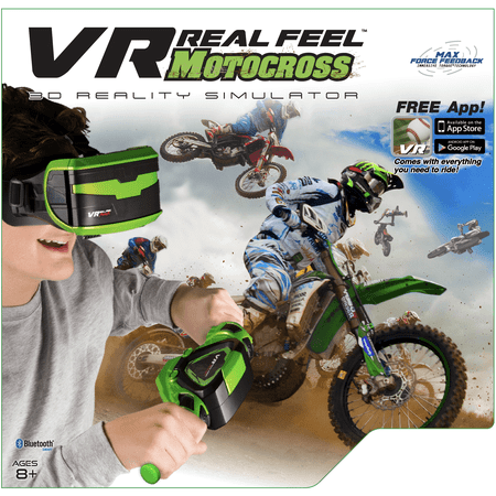 VR Real Feel Motocross With Headset