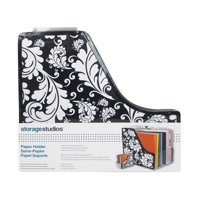 Storage Solutions Paper Holder Expandable B/W