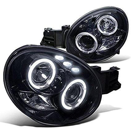 - Spec-D Tuning LHP-WRX02G-TM Subaru Impreza Wrx Dual Halo Led Glossy Black Projector Headlights