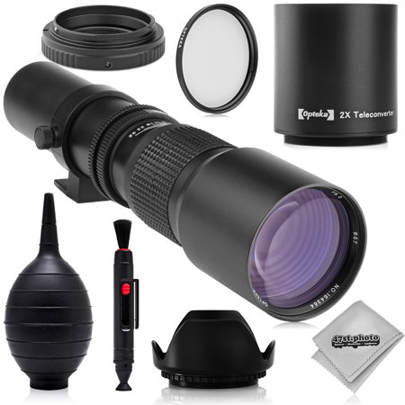 Super 500mm/1000mm f/8 Manual Telephoto Lens for Kodak PIXPRO Compact System S-1 Digital Camera Digital Zoom Lens Camera Lens