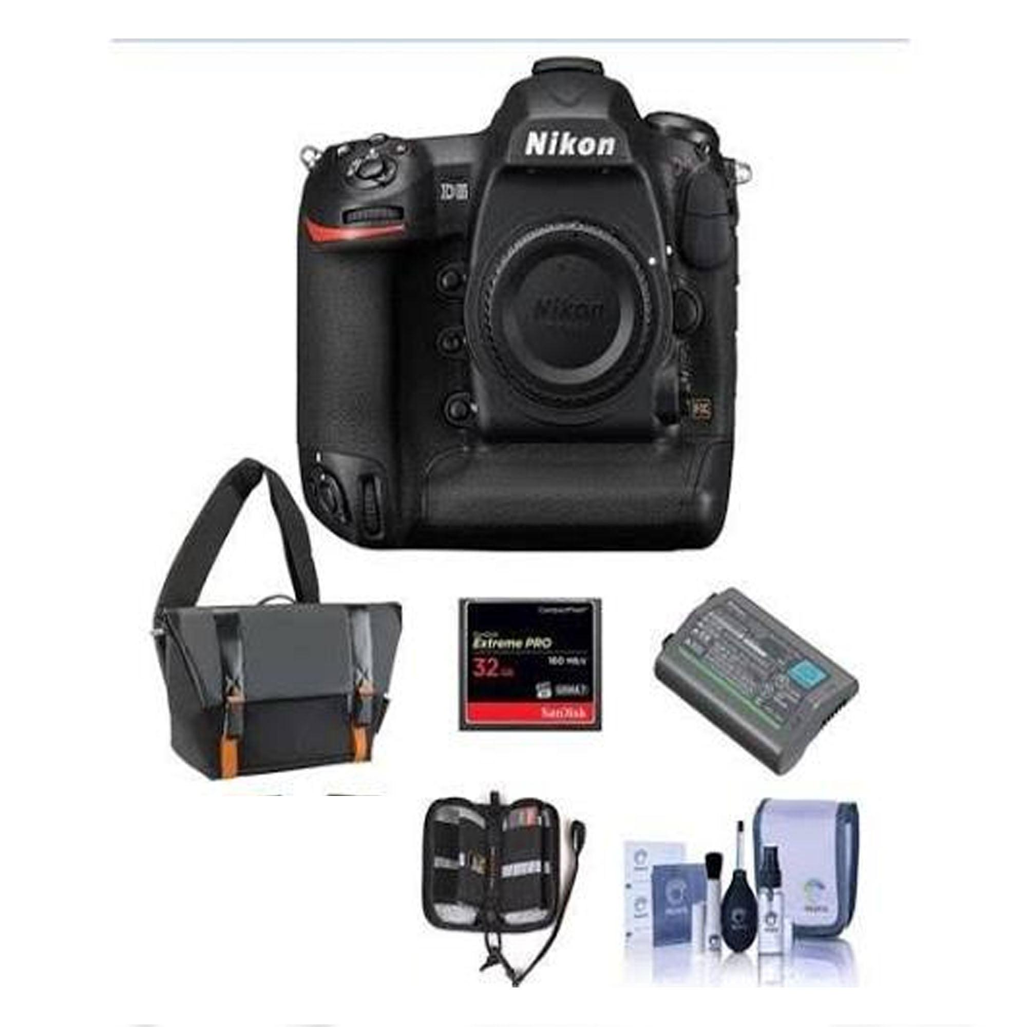 Nikon D5 FX-Format Digital SLR Camera Body (Cf Version) - Bundle with Camera Bag, Spare EN-EL18a Bat - image 1 de 1