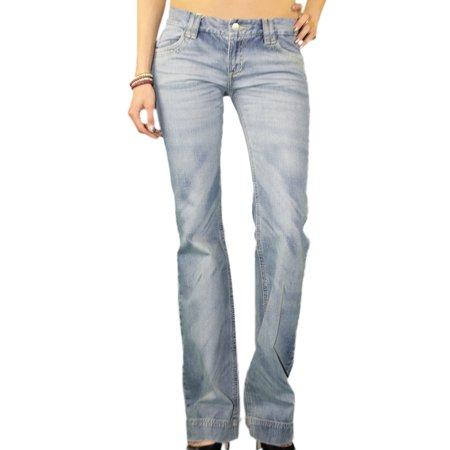 CUSTO BARCELONA Women's Tiplex Light Denim Bootcut Jeans -