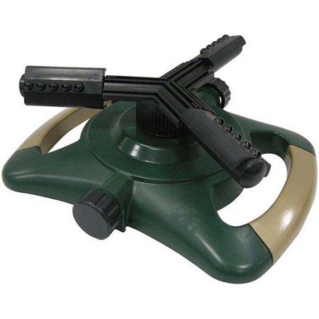 3 Arm Whirling Sprinkler (Bond 70032 Plastic 3 Arm Whirling Sprinkler Adjustable Spray)