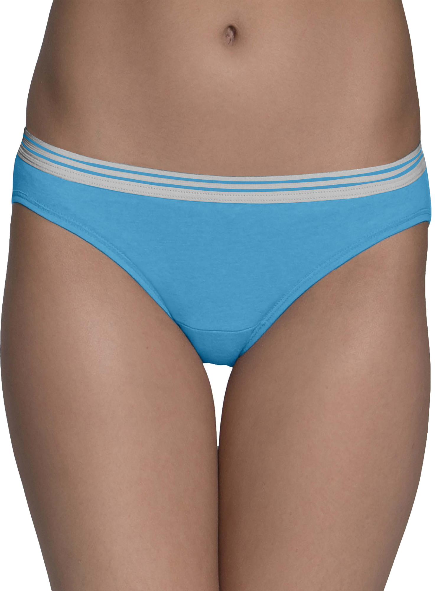 Women's Heather Low-Rise Hipster Panties, 6 Pack