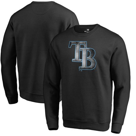 Fleece Tampa Bay Lightning Sweatshirt (Tampa Bay Rays Fanatics Branded Core Smoke Fleece Sweatshirt - Black )