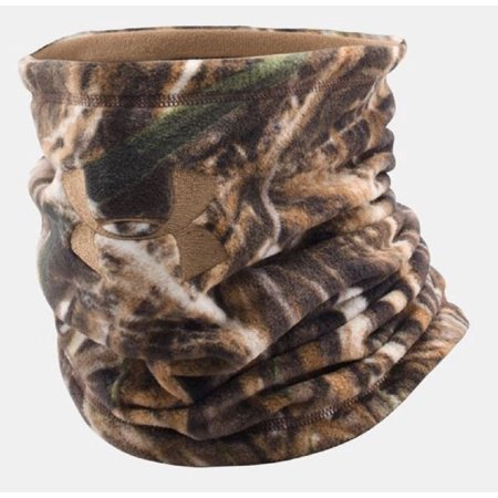 Under Armour UA Scent Control Neck Gaiter - One Size Fits All - Realtree Max 5