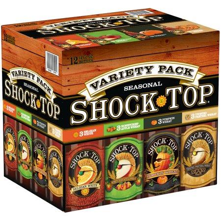 Shock Top Seasonal Variety Pack Beer 12 12 Fl Oz Bottles