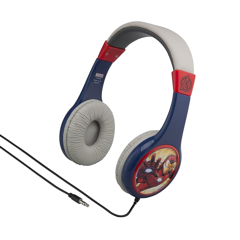 Avengers Kid Friendly Headphones for Safe Listening