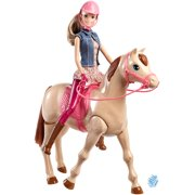 Barbie Saddle N Ride Horse