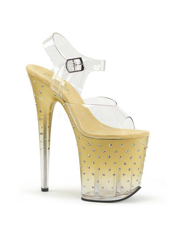 STDUS808T/C/G-C Pleaser Platforms (Exotic Dancing) Specialty Collection Size: 5