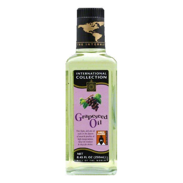 International Collection Grapeseed Oil, 8.45 OZ (Pack of 6)