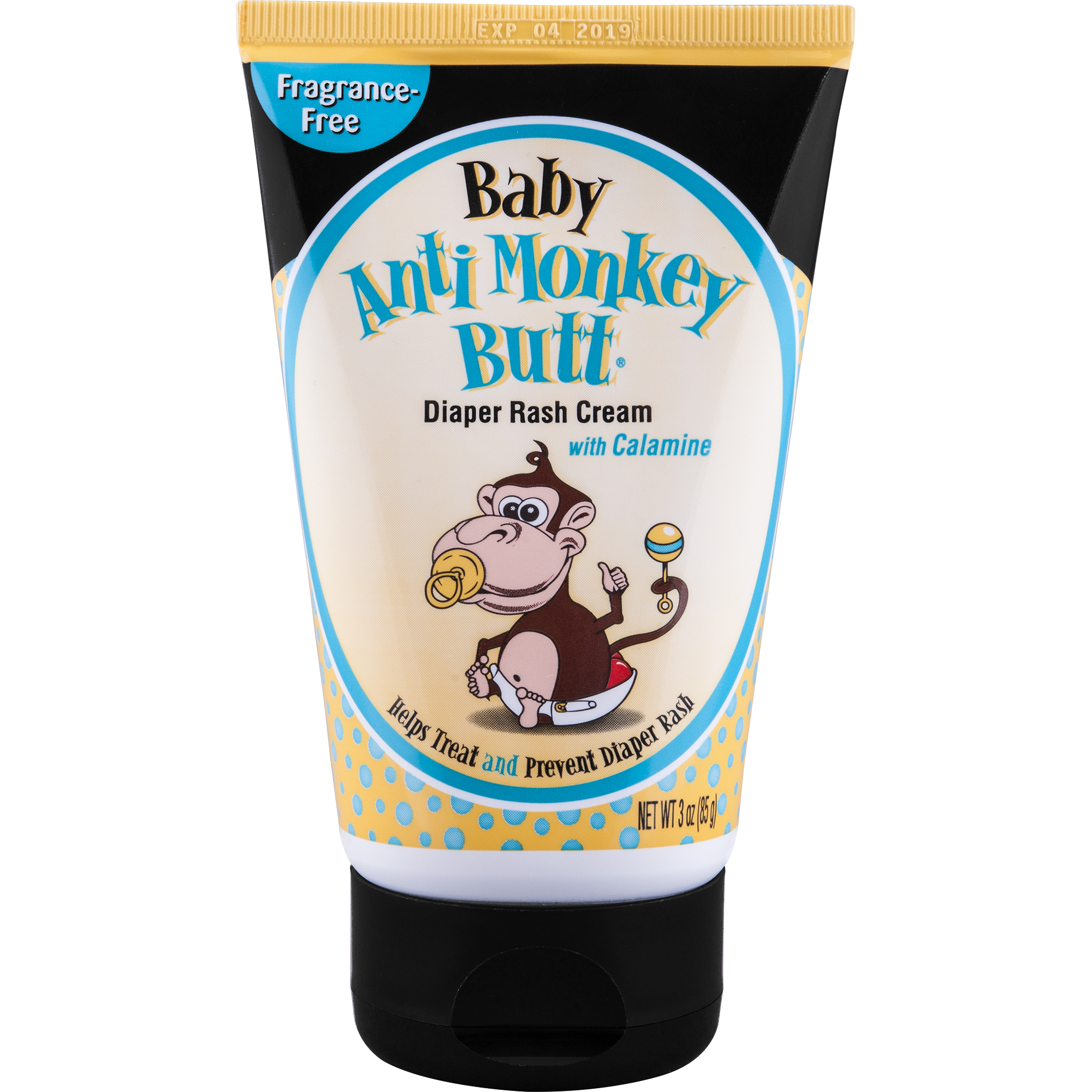 Anti Monkey Butt Diaper Riash Cream 3 oz.