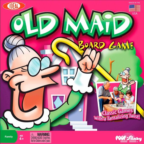 Ideal Old Maid Board Game