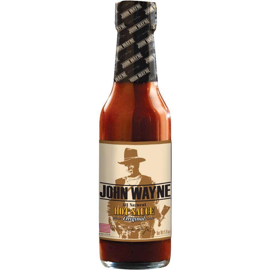 John Wayne Original Hot Sauce, 5 fl oz by Vita Food Products