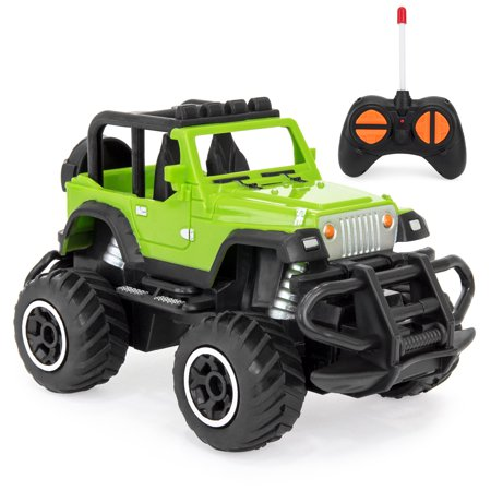 Best Choice Products 1/43 Scale 27MHz Mini RC Off-Road Racing Vehicle,