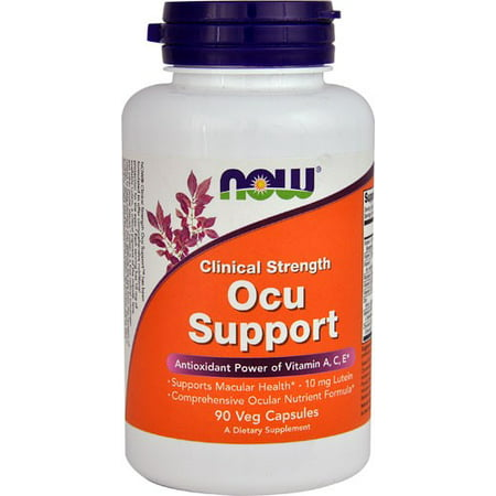 NOW Foods clinique Force Ocu soutien, vitamine A, C, E, 90 Ct