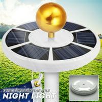 Waterproof Solar Flag Pole light 42 LED Flagpole Downlight Lighting Night Light for 15 to 25 Ft Flag Pole Outdoor Camping Garden