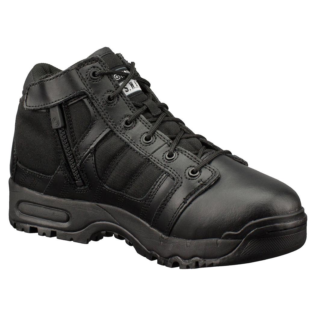 "Original Swat Metro Air 5"" Side-Zip Durable Mens Black Boots 123101"