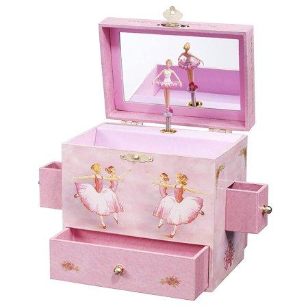 Music Treasure Box - Ballerina Treasure Music Box
