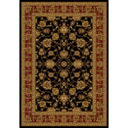 United Weavers Essence Annabel Border Woven Polypropylene Area Rug Border Polypropylene Rug